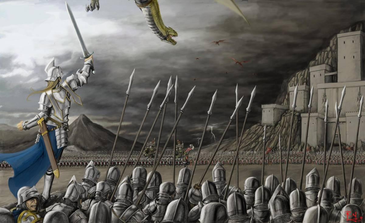 Armies of Skyshard Mass-battle