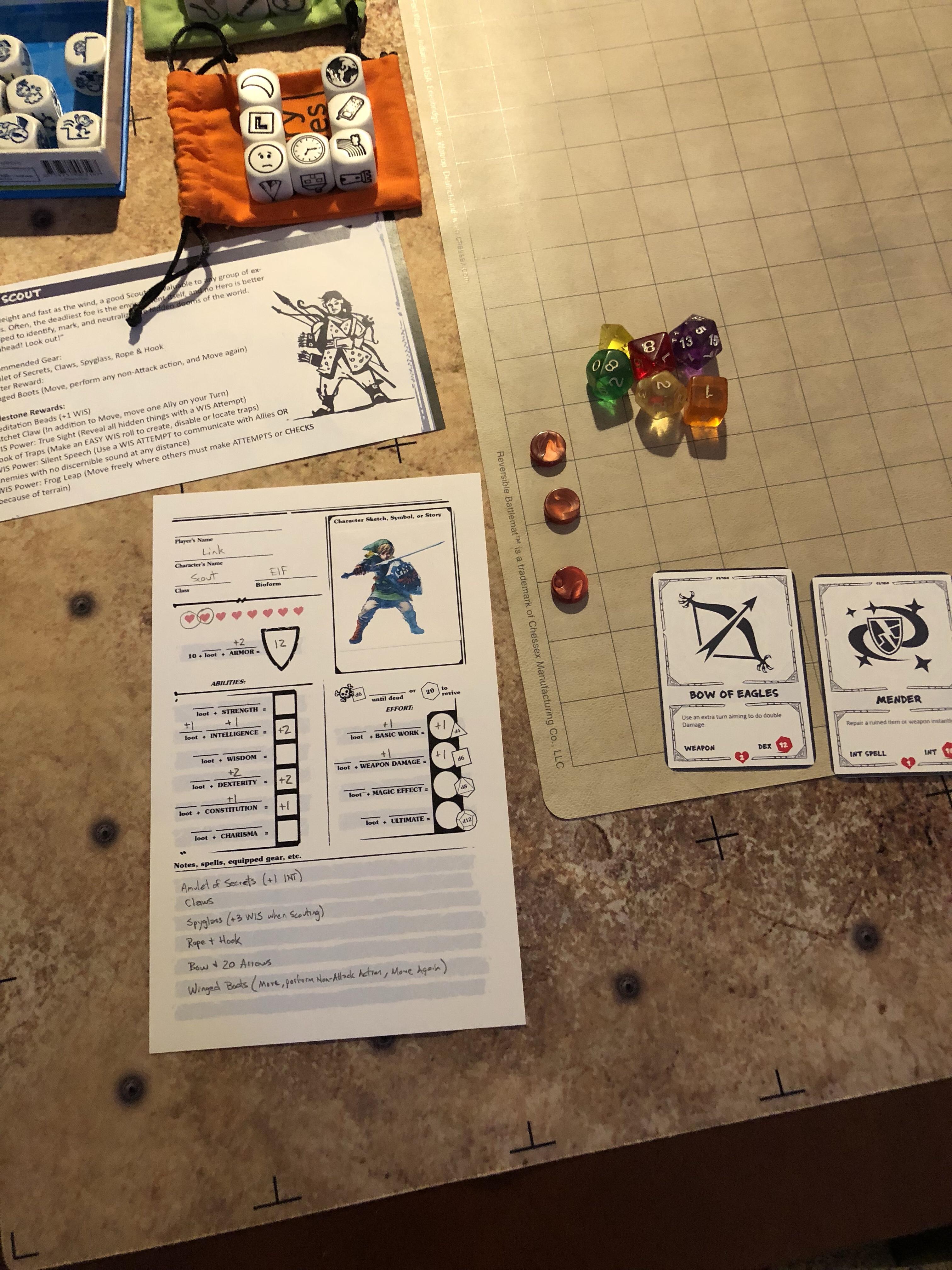 RPG | Visions of the Dark