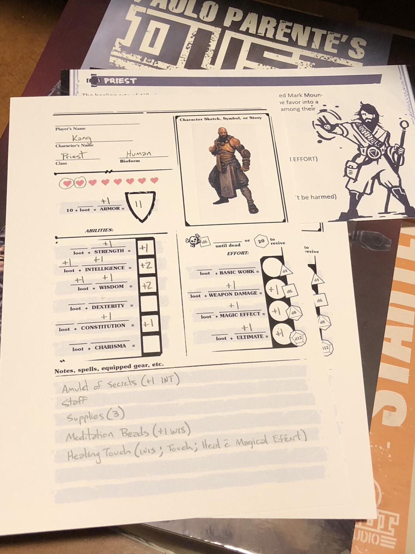 RPG   Visions of the Dark